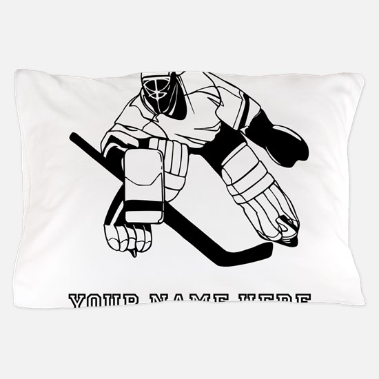 Custom Hockey Goalie Pillow Case