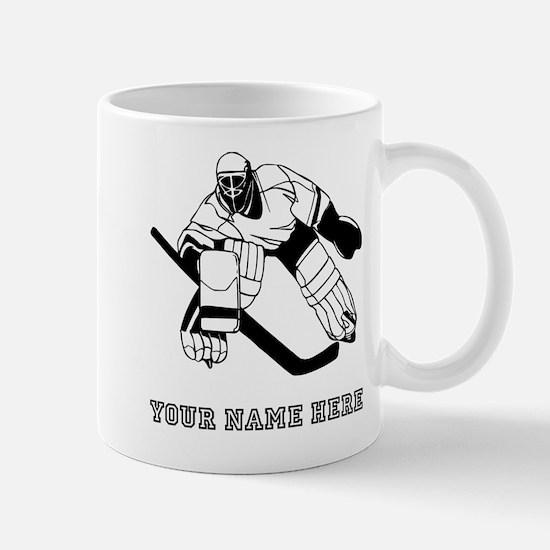 Custom Hockey Goalie Mugs