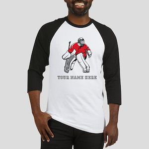 Custom Hockey Goalie Baseball Jersey
