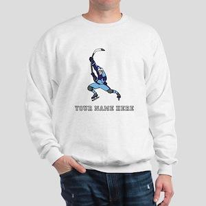 Custom Hockey Slapshot Sweatshirt