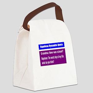 School/Napolean Dynamite Canvas Lunch Bag