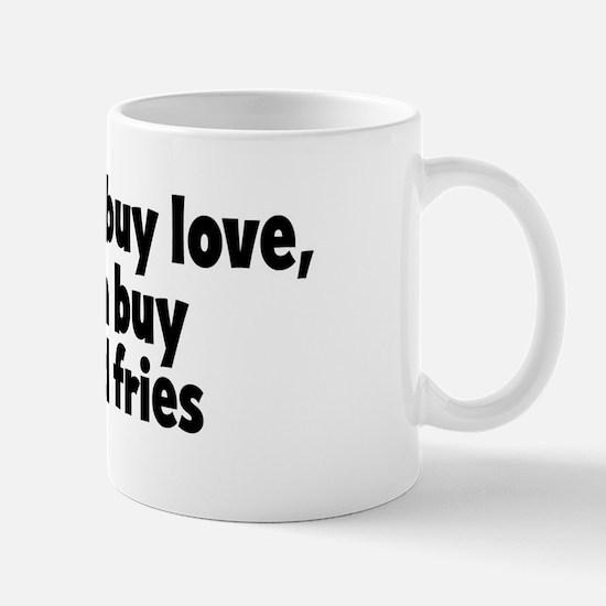 burger and fries (money) Mug