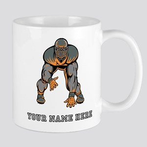 Custom Defensive Lineman Mugs
