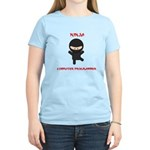 Ninja Computer Programmer Women's Light T-Shirt