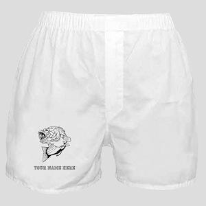 Custom Bass Boxer Shorts
