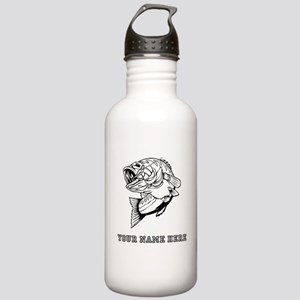 Custom Bass Water Bottle