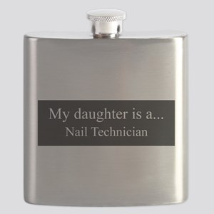 Daughter - Nail Technician Flask