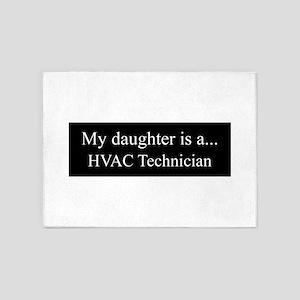 Daughter - HVAC Technician 5'x7'Area Rug