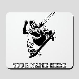 Custom Skateboarder Mousepad