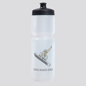 Custom Extreme Snowboarder Sports Bottle
