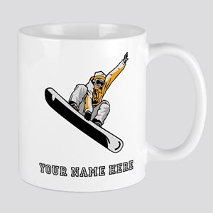Custom Extreme Snowboarder Mugs