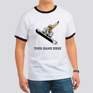 Custom Extreme Snowboarder T-Shirt