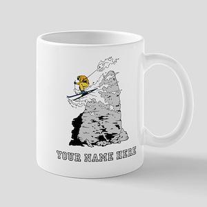 Custom Extreme Skier Mugs