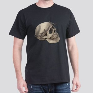 Skull with Barbed Wire Crown T-Shirt