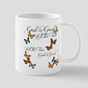 God is Good- Butterflies Mugs