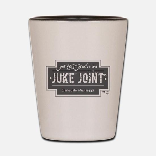 Clarksdale Juke Joint - Charcoal Cross Design Shot
