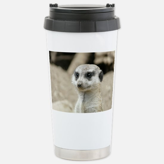 Meerkat Stainless Steel Travel Mug
