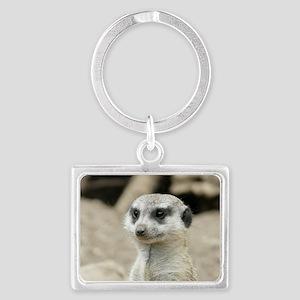 Meerkat Landscape Keychain