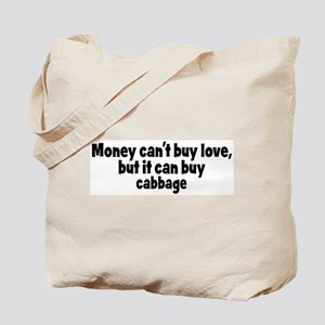 cabbage (money) Tote Bag