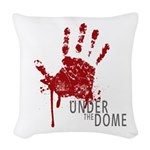 UNDER THE DOME Handprint Woven Throw Pillow