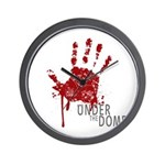 UNDER THE DOME Handprint Wall Clock