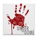UNDER THE DOME Handprint Tile Coaster