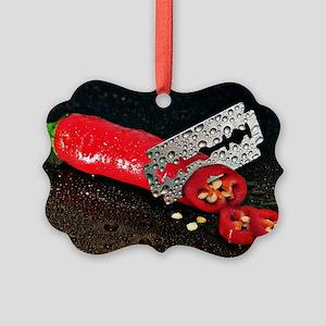 Peperoni Style Picture Ornament