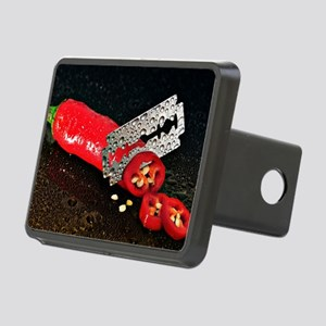 Peperoni Style Rectangular Hitch Cover