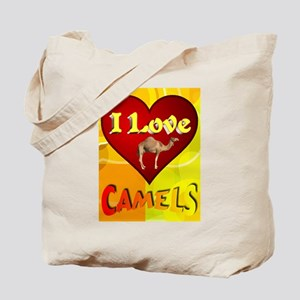 I Love Camels Tote Bag