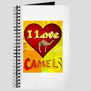 I Love Camels Journal