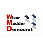 WMD Wiser Madder Democrat Postcards (8)