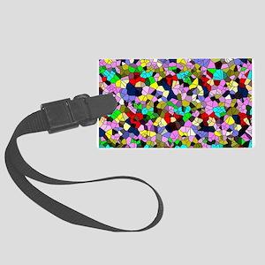 effect mosaic Luggage Tag