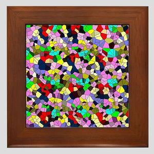 effect mosaic Framed Tile