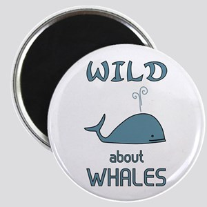 Wild About Whales Magnet