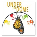 Under the DOME Four Hands Square Car Magnet 3