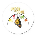 Under the DOME Four Hands Round Car Magnet