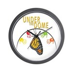 Under the DOME Four Hands Wall Clock
