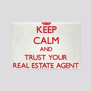 Keep Calm and trust your Real Estate Agent Magnets
