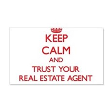 Keep Calm and trust your Real Estate Agent Wall De