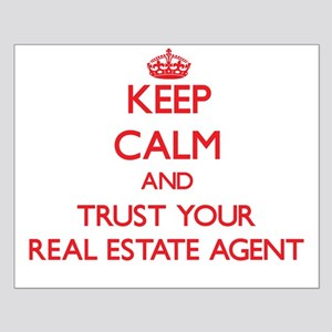 Keep Calm and trust your Real Estate Agent Posters