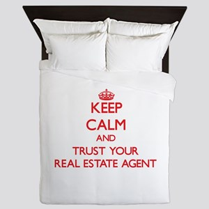 Keep Calm and trust your Real Estate Agent Queen D