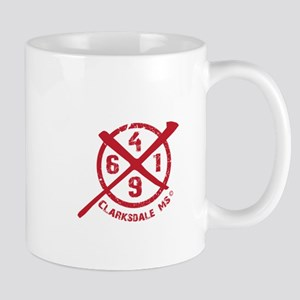 61/49 Crossroads Symbol - Open Red Design Mugs