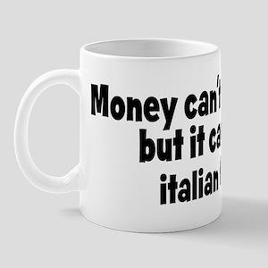italian food (money) Mug