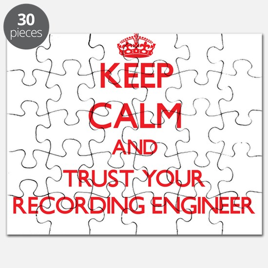 Keep Calm and trust your Recording Engineer Puzzle