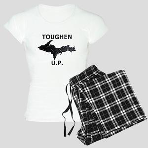 Toughen U.P. In Black Diamond Plate Pajamas