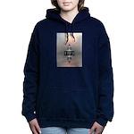Mysterious Metallic Structure Hooded Sweatshirt
