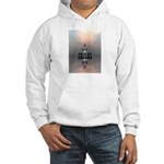 Mysterious Metallic Structure Hoodie