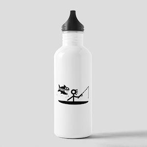 Kayak Fishing Stainless Water Bottle 1.0l