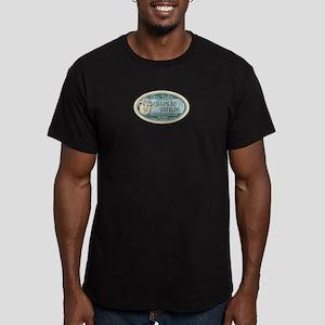 Clem Trales Chapeau Sh Men's Fitted T-Shirt (dark)