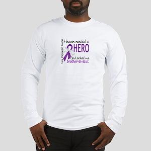 Pancreatic Cancer Heaven Neede Long Sleeve T-Shirt